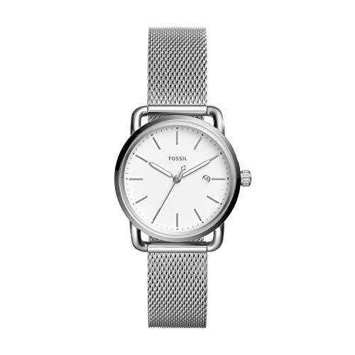 フォッシル 腕時計 レディース ES4331 【送料無料】Fossil Women's The Commuter Quartz Stainless Steel Mesh Casual Watch, Color: Silver-Tone (Model: ES4331)フォッシル 腕時計 レディース ES4331