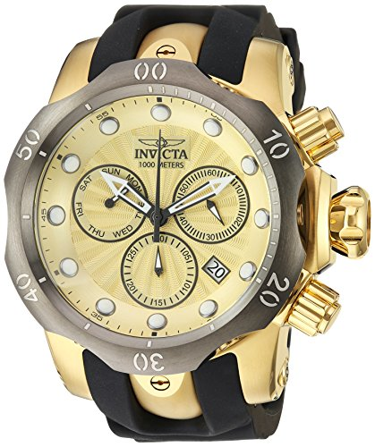 インヴィクタ インビクタ ベノム 腕時計 メンズ 24258 【送料無料】Invicta Men's Venom Titanium Quartz Watch with Silicone Strap, Two Tone, 26 (Model: 24258)インヴィクタ インビクタ ベノム 腕時計 メンズ 24258