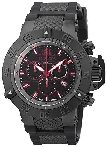 インヴィクタ インビクタ サブアクア 腕時計 メンズ 90110 【送料無料】Invicta Men's Subaqua Stainless Steel Swiss-Quartz Watch with Silicone Strap, Black, 29 (Model: 90110)インヴィクタ インビクタ サブアクア 腕時計 メンズ 90110