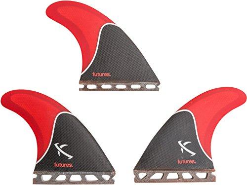 サーフィン フィン マリンスポーツ Futures Lost Honeycomb Tri Fin Set - Mediumサーフィン フィン マリンスポーツ