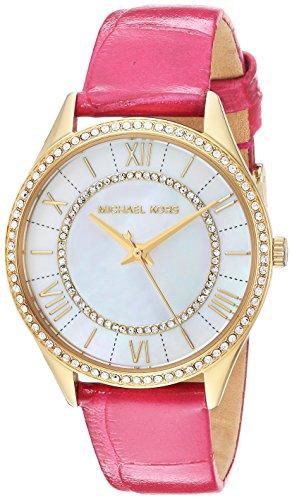 マイケルコース 腕時計 レディース マイケル・コース アメリカ直輸入 MK2709 Michael Kors Women's Mini Lauryn Watch Stainless Steel Analog-Quartz Leather Calfskin Strap, Pink, 0.5 (Moマイケルコース 腕時計 レディース マイケル・コース アメリカ直輸入 MK2709