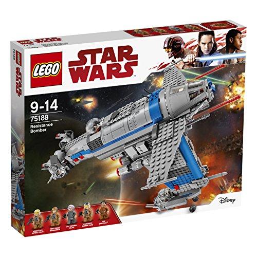 レゴ スターウォーズ 75188 LEGO Star Wars Episode VIII: Resistance Bomber Costruzioniレゴ スターウォーズ 75188