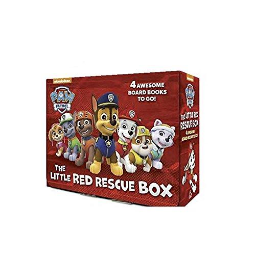 パウパトロール アメリカ直輸入 英語 バイリンガル育児 おもちゃ Paw Patrol Little Libaray Little Red Rescue Box for Little Hands 4 Book Set Ages 0+パウパトロール アメリカ直輸入 英語 バイリンガル育児 おもちゃ