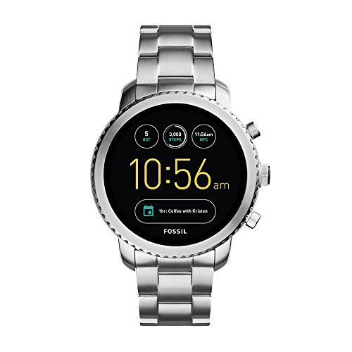 フォッシル 腕時計 メンズ FTW4000 Fossil Q Men's Gen 3 Explorist Stainless Steel Smartwatch, Color: Silver-Tone (Model: FTW4000)フォッシル 腕時計 メンズ FTW4000