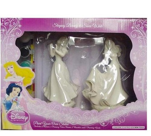 眠れる森の美女 スリーピングビューティー オーロラ姫 ディズニープリンセス Disney Sleeping Beauty & Snow White Paint Your Own Statue by Disney眠れる森の美女 スリーピングビューティー オーロラ姫 ディズニープリンセス