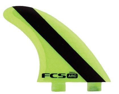 サーフィン フィン マリンスポーツ 【送料無料】FCS ARC (AM-3 Version 2) Surfboard Tri Fin Set - Smallサーフィン フィン マリンスポーツ
