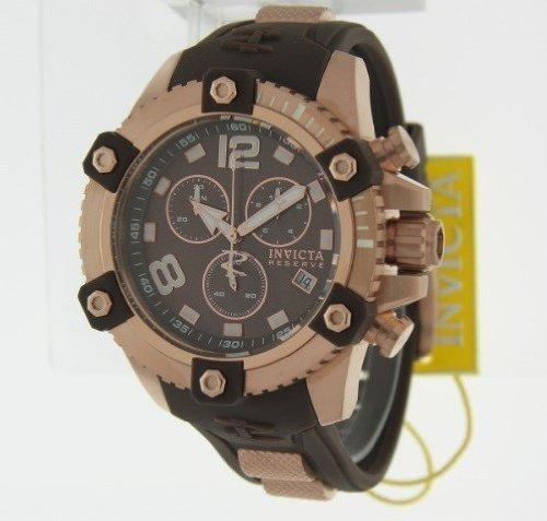 インヴィクタ インビクタ リザーブ 腕時計 メンズ 80363 Invicta Men's 80363 Reserve Analog Display Swiss Quartz Brown Watchインヴィクタ インビクタ リザーブ 腕時計 メンズ 80363