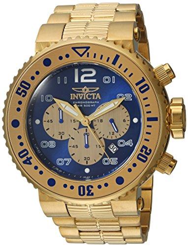 インヴィクタ インビクタ プロダイバー 腕時計 メンズ 25077 【送料無料】Invicta Men's Pro Diver Quartz Watch with Stainless-Steel Strap, Gold, 29.3 (Model: 25077)インヴィクタ インビクタ プロダイバー 腕時計 メンズ 25077