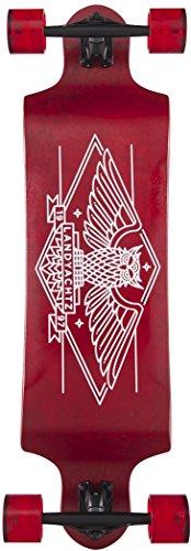 ランドヤッツ ロングスケートボード スケボー 海外モデル アメリカ直輸入 Landyachtz Switch 35 Longboard Complete Red Owl New 2017ランドヤッツ ロングスケートボード スケボー 海外モデル アメリカ直輸入