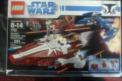 レゴ スターウォーズ 7751 LEGO 7751 AHSOKAS STARFIGHTER AND VULTURE DROIDレゴ スターウォーズ 7751