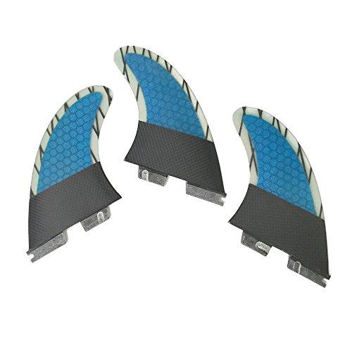 サーフィン フィン マリンスポーツ UPSURF Surfboard fins FCS2 M 3fins Carbon Surfing Choose (M/G5)サーフィン フィン マリンスポーツ