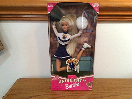 バービー バービー人形 大学 大学生 チアリーダー 19153 【送料無料】Barbie University of Kentucky Cheerleaderバービー バービー人形 大学 大学生 チアリーダー 19153