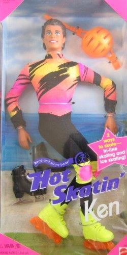 バービー バービー人形 ケン Ken 13513 Barbie Hot Skatin' KEN Doll - In-Line & Ice Skating (1994)バービー バービー人形 ケン Ken 13513