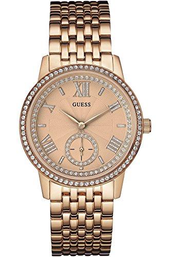 ゲス GUESS 腕時計 レディース W0573L3 【送料無料】GUESS W0573L3,Ladies Dress Elegant,Stainless Steel case & Bracelet,Rose Gold Tone,WRゲス GUESS 腕時計 レディース W0573L3