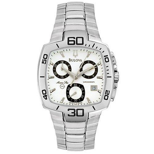 ブローバ 腕時計 メンズ 96G63 【送料無料】Bulova Men's 96G63 Marine Star Chronograph Watchブローバ 腕時計 メンズ 96G63