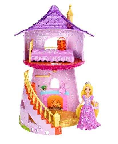 塔の上のラプンツェル タングルド ディズニープリンセス X9433 Disney Princess Little Kingdom MagiClip Rapunzel Playset塔の上のラプンツェル タングルド ディズニープリンセス X9433
