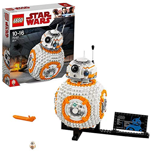 レゴ スターウォーズ 75187 Star Wars The Last Jedi BB-8 Robot Toy, Collector's Model Building Setレゴ スターウォーズ 75187