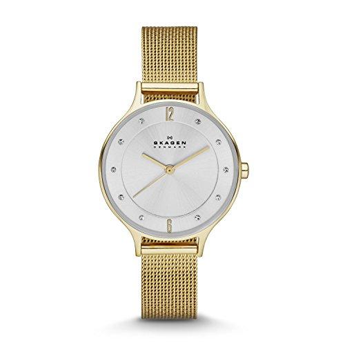 スカーゲン 腕時計 レディース SKW2150 Skagen SKW2150 Ladies Anita Gold Mesh Watchスカーゲン 腕時計 レディース SKW2150