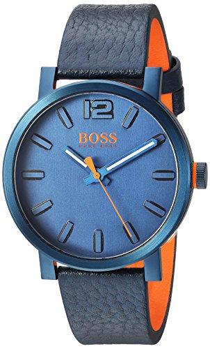 ヒューゴボス 高級腕時計 メンズ 1550039 HUGO BOSS Men's 'BILBAO' Quartz Stainless Steel and Leather Casual Watch, Color:Blue (Model: 1550039)ヒューゴボス 高級腕時計 メンズ 1550039