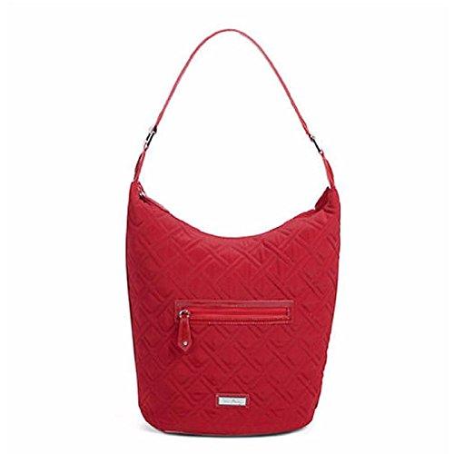 ヴェラブラッドリー ベラブラッドリー アメリカ フロリダ州マイアミ 日本未発売 BH-14889 【送料無料】Verabradley Piper Hobo Shoulder Bag In Tango Red With Red Trim, ヴェラブラッドリー ベラブラッドリー アメリカ フロリダ州マイアミ 日本未発売 BH-14889