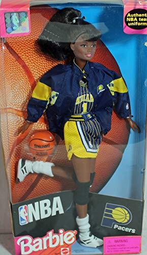 バービー バービー人形 【送料無料】Barbie Matttel African American NBA Doll ~ Indiana Pacers Uniformバービー バービー人形