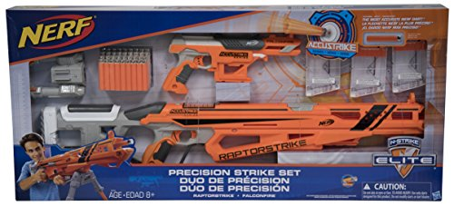 ナーフ エヌストライク アメリカ 直輸入 エリート Nerf N-Strike Elite Precision Strike Set RaptorStrike and FalconFire Blastersナーフ エヌストライク アメリカ 直輸入 エリート