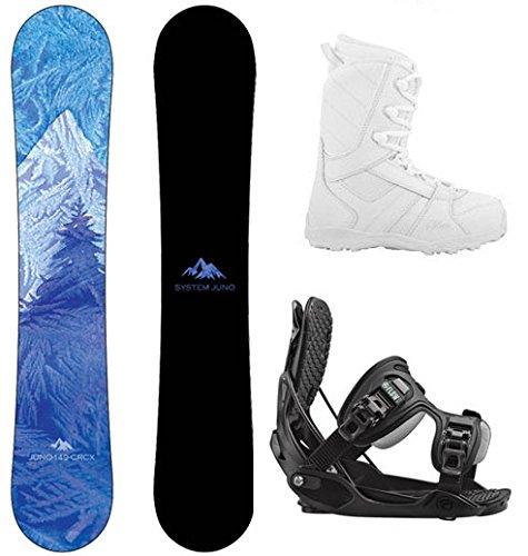 スノーボード ウィンタースポーツ システム 2017年モデル2018年モデル多数 Package-System Juno Womens Snowboard 141 cm-Flow Haylo Bindings-Siren Lux Women's Snowboard Boots-7スノーボード ウィンタースポーツ システム 2017年モデル2018年モデル多数