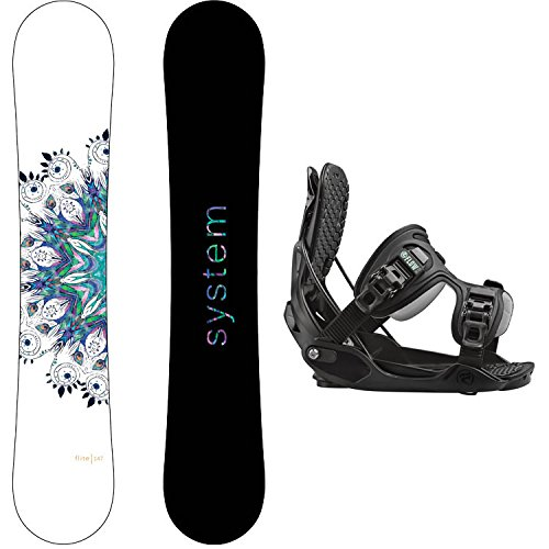 スノーボード ウィンタースポーツ システム 2017年モデル2018年モデル多数 System Package Flite Women's Snowboard-147 cm-Flow Haylo Bindingsスノーボード ウィンタースポーツ システム 2017年モデル2018年モデル多数