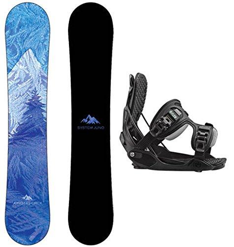 スノーボード ウィンタースポーツ システム 2017年モデル2018年モデル多数 Package-System Juno Womens Snowboard 141 cm-Flow Haylo Bindingsスノーボード ウィンタースポーツ システム 2017年モデル2018年モデル多数