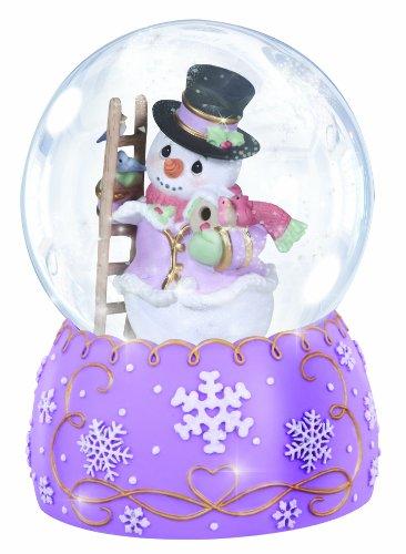 スノーグローブ 雪 置物 インテリア 海外モデル 131105 Precious Moments Annual Snowman with Winter Birds Waterballスノーグローブ 雪 置物 インテリア 海外モデル 131105