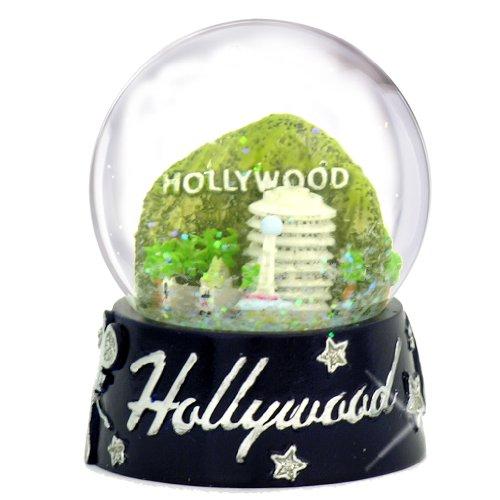 スノーグローブ 雪 置物 インテリア 海外モデル Hollywood Snow Globe, Skyline with Landmarks 65mm Snow Globes of Californiaスノーグローブ 雪 置物 インテリア 海外モデル
