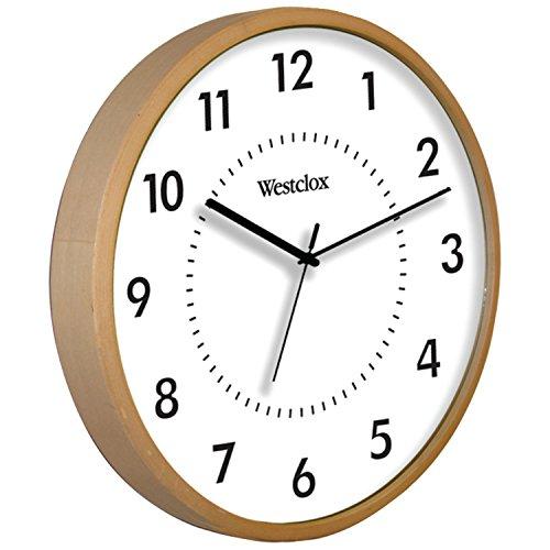 壁掛け時計 インテリア インテリア 海外モデル アメリカ 32886 【送料無料】Westclox 32886 Woodgrain Clock壁掛け時計 インテリア インテリア 海外モデル アメリカ 32886