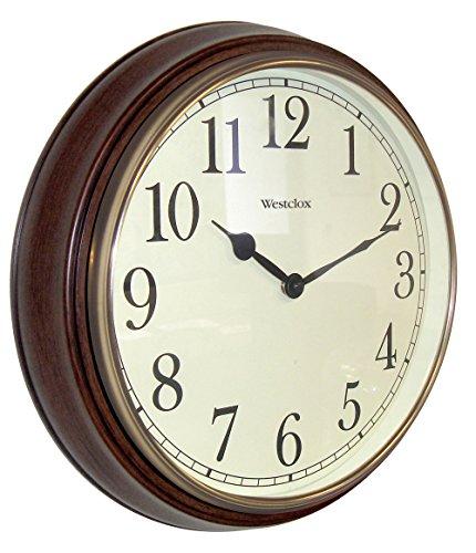 壁掛け時計 インテリア インテリア 海外モデル アメリカ 73004P 【送料無料】Westclox 73004P 15.5