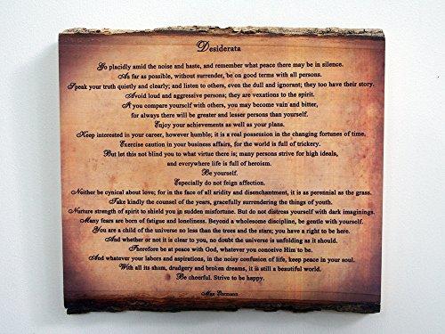 壁飾り インテリア タペストリー 壁掛けオブジェ 海外デザイン 【送料無料】Desiderata Wood Sign - Poem on Rustic Wooden Plaque壁飾り インテリア タペストリー 壁掛けオブジェ 海外デザイン