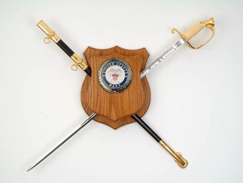 壁飾り インテリア タペストリー 壁掛けオブジェ 海外デザイン All American Gifts Military Sword Wall Display Mount (Navy Emblem)壁飾り インテリア タペストリー 壁掛けオブジェ 海外デザイン