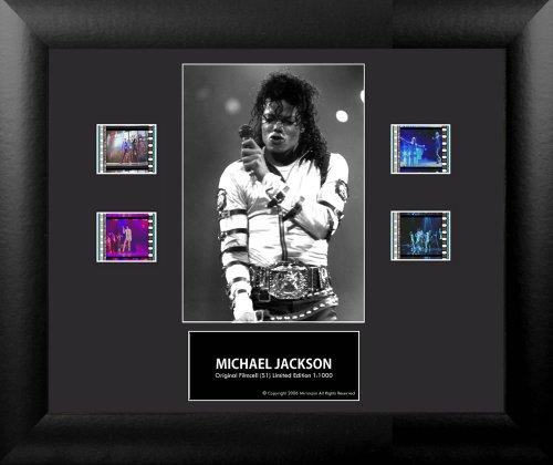 壁飾り インテリア タペストリー 壁掛けオブジェ 海外デザイン FLMC750 Michael Jackson (Series 1) Framed Double Film Cell Presentation壁飾り インテリア タペストリー 壁掛けオブジェ 海外デザイン FLMC750