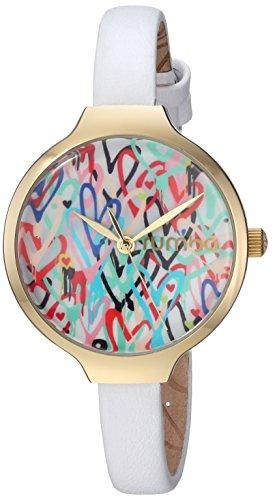 ルンバタイム 腕時計 レディース 27877 【送料無料】RumbaTime Women's Orchard Love Japanese-Quartz Watch with Leather Strap, White, 8 (Model: 27877)ルンバタイム 腕時計 レディース 27877