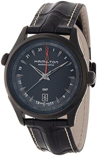 ハミルトン 腕時計 メンズ H32685731 【送料無料】Hamilton Jazzmaster GMT Auto 42mm Mens Watch - H32685731ハミルトン 腕時計 メンズ H32685731