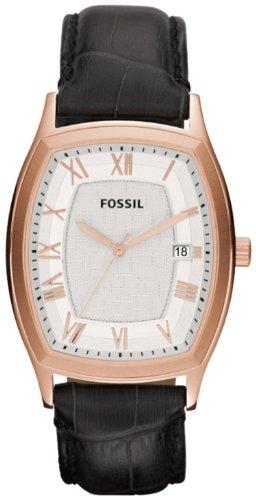 フォッシル 腕時計 メンズ FS4739 【送料無料】FS4739 Fossil Ansel Leather Mens Watch - Silver Dialフォッシル 腕時計 メンズ FS4739