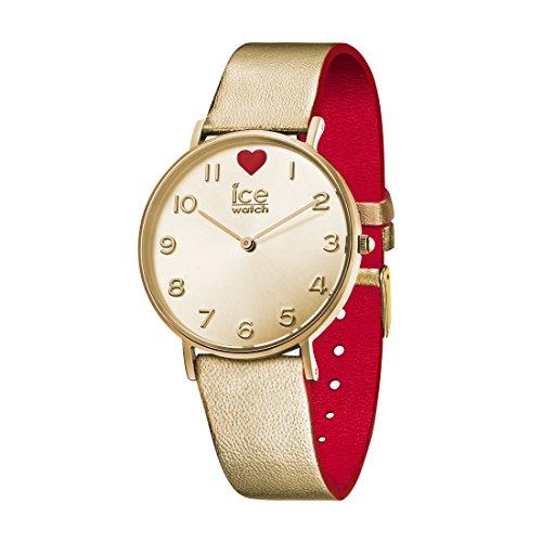 アイスウォッチ 腕時計 レディース かわいい 夏の腕時計特集 013376 【送料無料】Ladies Ice-Watch PVD Gold plated Strap buckle Gold Dial Watch 13376アイスウォッチ 腕時計 レディース かわいい 夏の腕時計特集 013376
