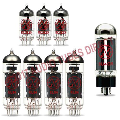 真空管 ギター・ベース アンプ 海外 輸入 EL84 ECC83S 5U4GB JJ Tube Upgrade Kit For Budda Superdrive 30 Series II Amps EL84 ECC83S 5U4GB真空管 ギター・ベース アンプ 海外 輸入 EL84 ECC83S 5U4GB