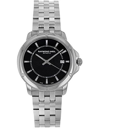 腕時計 レイモンドウィル メンズ スイスの高級腕時計 5591-ST-20001 【送料無料】Raymond Weil Tango Black Dial Stainless Steel Quartz Male Watch 5591-ST-20001腕時計 レイモンドウィル メンズ スイスの高級腕時計 5591-ST-20001
