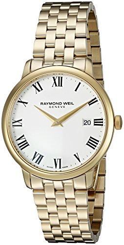 レイモンドウィル 腕時計 メンズ スイスの高級腕時計 5488-P-00300 【送料無料】Raymond Weil Men's 'Toccata' Swiss Quartz Stainless Steel and Dress Watch, Color:Gold-Toned (Model: 5488-Pレイモンドウィル 腕時計 メンズ スイスの高級腕時計 5488-P-00300