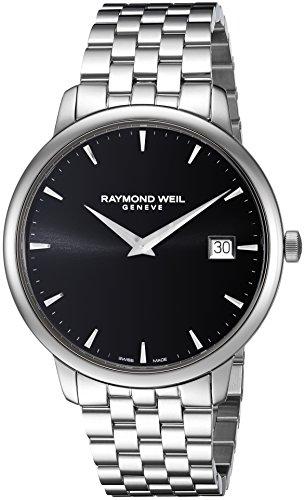 レイモンドウィル 腕時計 レディース スイスの高級腕時計 5588-ST-20001 【送料無料】Raymond Weil Toccata Swiss-Quartz Watch with Stainless-Steel Strap, Silver, 20 (Model: 5588-ST-2レイモンドウィル 腕時計 レディース スイスの高級腕時計 5588-ST-20001