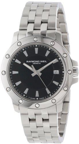 レイモンドウィル 腕時計 メンズ スイスの高級腕時計 5599-ST-20001 【送料無料】Raymond Weil Men's 5599-ST-20001 Tango Stainless Steel Case and Bracelet Black Dial Watchレイモンドウィル 腕時計 メンズ スイスの高級腕時計 5599-ST-20001