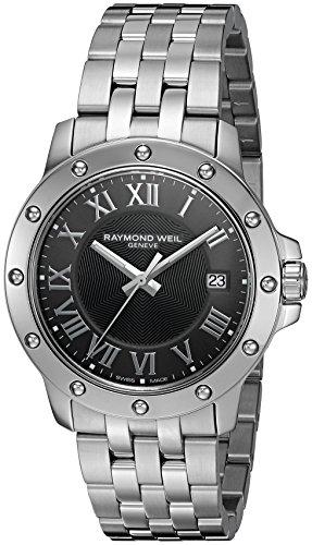 レイモンドウィル 腕時計 メンズ スイスの高級腕時計 5599-ST-00608 Raymond Weil Men's 5599-ST-00608 Tango Stainless Steel Case and Bracelet Grey Dial Watchレイモンドウィル 腕時計 メンズ スイスの高級腕時計 5599-ST-00608