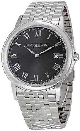 レイモンドウィル 腕時計 メンズ スイスの高級腕時計 5466-ST-00608 【送料無料】Raymond Weil Men's 5466-ST-00608 Tradition Grey Dial Watchレイモンドウィル 腕時計 メンズ スイスの高級腕時計 5466-ST-00608
