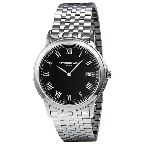 レイモンドウィル 腕時計 メンズ スイスの高級腕時計 5466-ST-00208 Raymond Weil Tradition Black Dial Steel Mens Watch 5466-ST-00208レイモンドウィル 腕時計 メンズ スイスの高級腕時計 5466-ST-00208