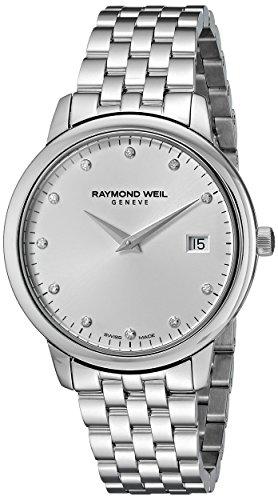 レイモンドウィル 腕時計 レディース スイスの高級腕時計 5388-ST-65081 Raymond Weil Women's 5388-ST-65081 Toccata Analog Display Quartz Silver Watchレイモンドウィル 腕時計 レディース スイスの高級腕時計 5388-ST-65081