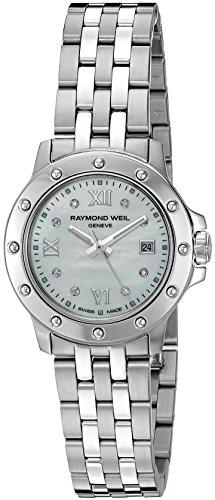 レイモンドウィル 腕時計 レディース スイスの高級腕時計 5399-ST-00995 Raymond Weil Women's 5399-ST-00995 Tango Steel Mother-Of-Pearl Diamond Crystal Dial Watchレイモンドウィル 腕時計 レディース スイスの高級腕時計 5399-ST-00995